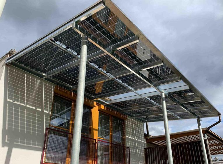 Photovoltaik-Firma
